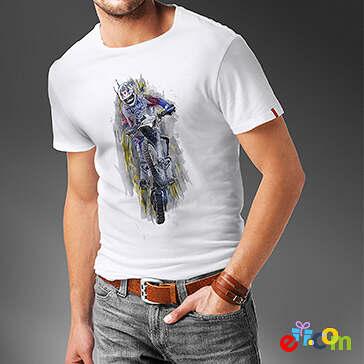 Adle – koszulka męska  z własnym nadrukiem